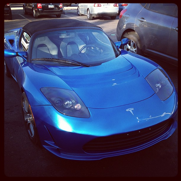Tesla Roadster - Electric is Sexy