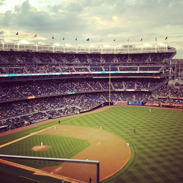 @ Yankee Stadium