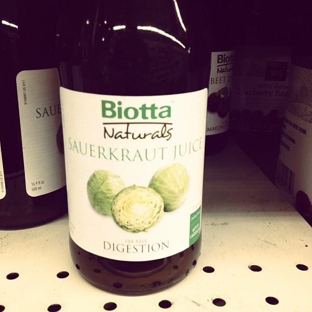 Sauerkraut Juice?