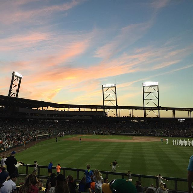 Salt River Fields night game. #nofilter