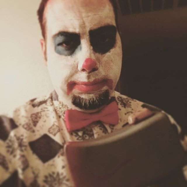 Being a clown, what could go wrong?